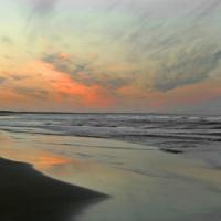 Aberdeen Beach at Sunset